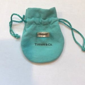 Tiffany and co silver ring